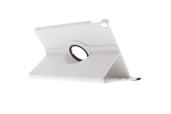 Tablet PU Leer iPad Pro 10.5 inch Draaibare Hoes Wit