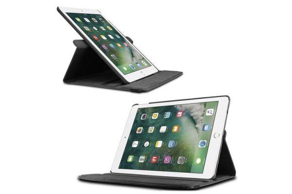 Tablet PU Leer iPad Pro 10.5 inch Draaibare Hoes Zwart