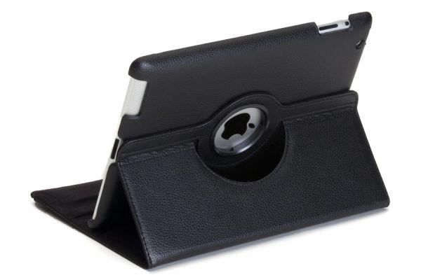 iPad Air 2 PU leren Draaibare Hoes Zwart