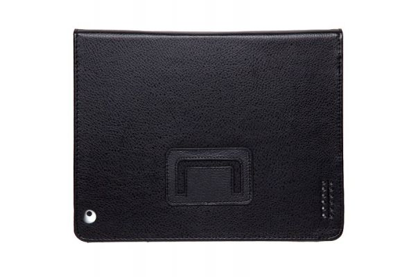 iPad Mini 1-2-3 PU Leren Book Cover Zwart