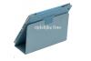 Samsung Galaxy Tab S- 10.5 Leren Book Cover lichtBlauw